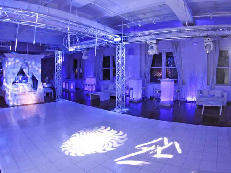 Sweet Sixteen Event Space on Fifth Avenue NYC Midtown Loft Terrace