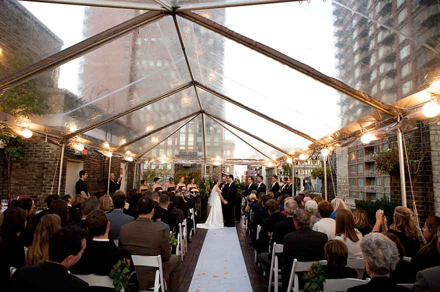 Nyc wedding venue with rooftop garden on 5th avenue for Small wedding venues ny