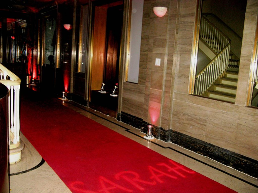 custom red carpet - Midtown Productions