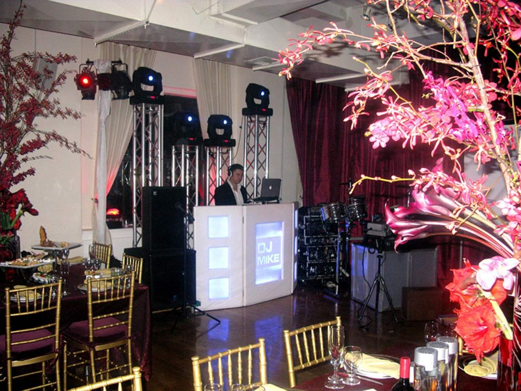 18 Midtown Loft venue space decorated for Sweet 16 event