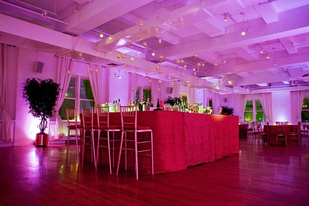 19 Midtown Loft venue space decorated for Sweet 16 event