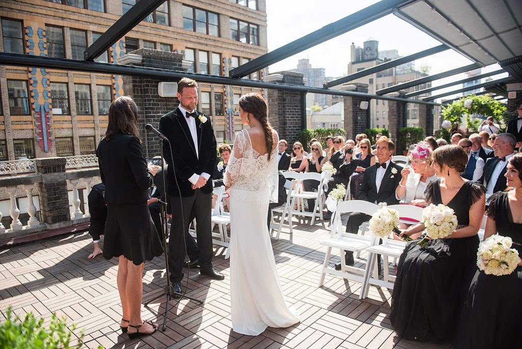 wedding ceremony - Midtown Terrace