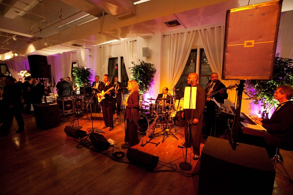 Band playing at event - NYC corporate event space