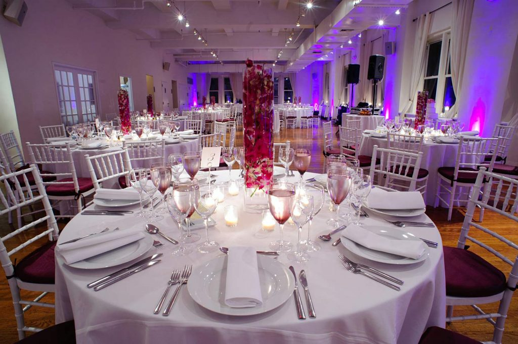 23 Midtown Loft venue space decorated for Sweet 16 event