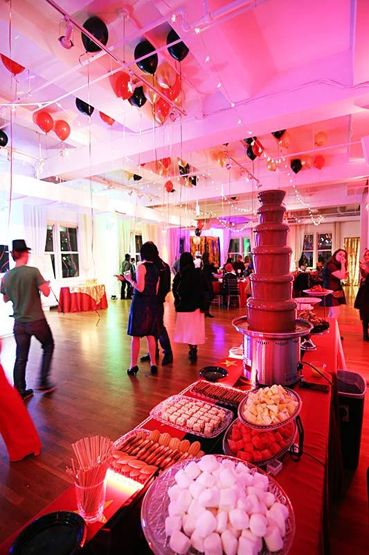 Bar / Bat Mitzvah event space - Midtown Loft