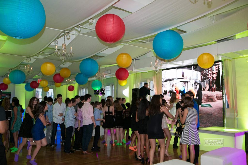 27 Midtown Loft venue space decorated for Sweet 16 event