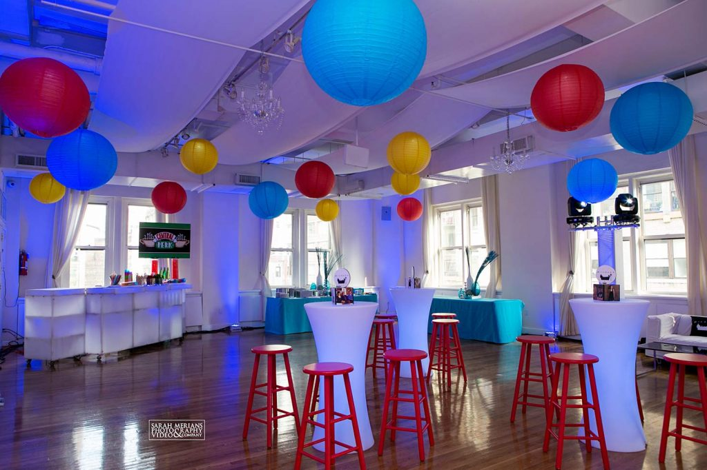 friends themed party - Midtown Loft