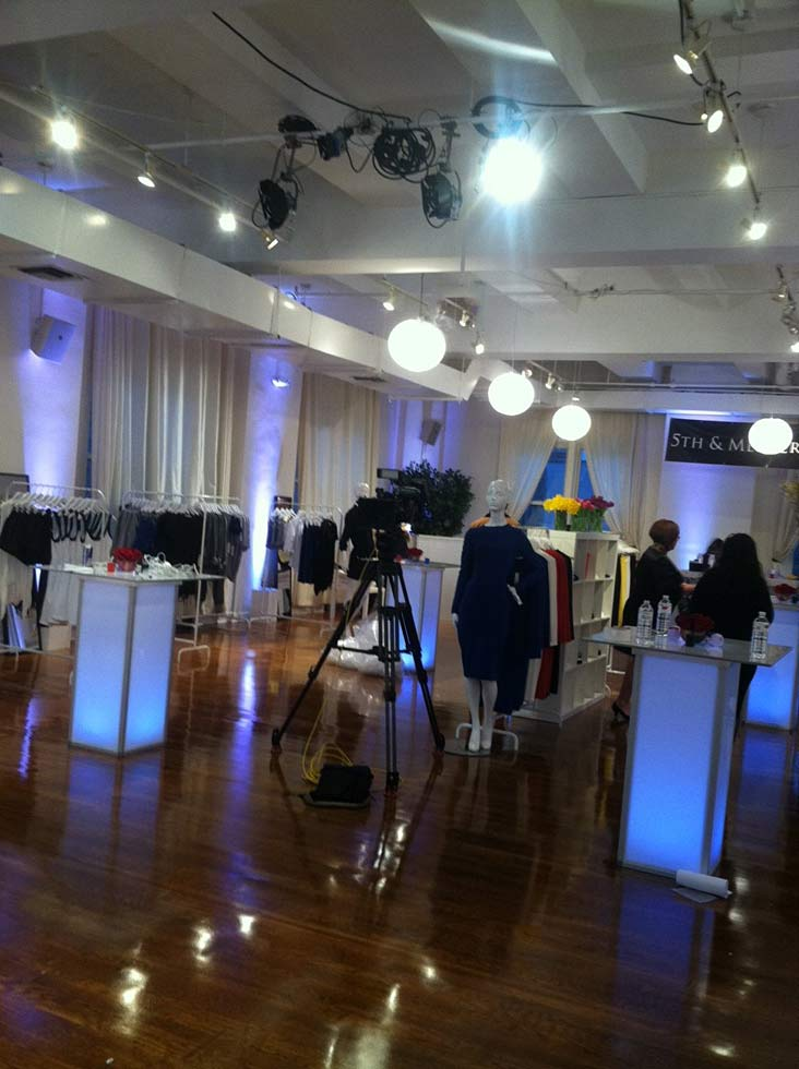 fashion industry show - NYC corporate event space