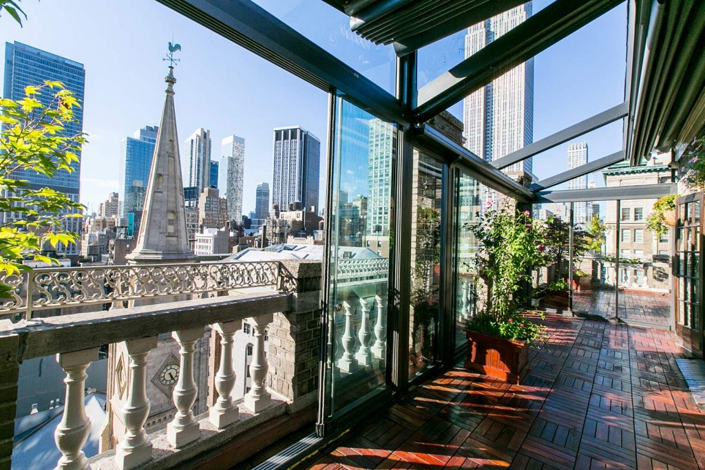 39 Midtown Loft venue decorated for a private wedding