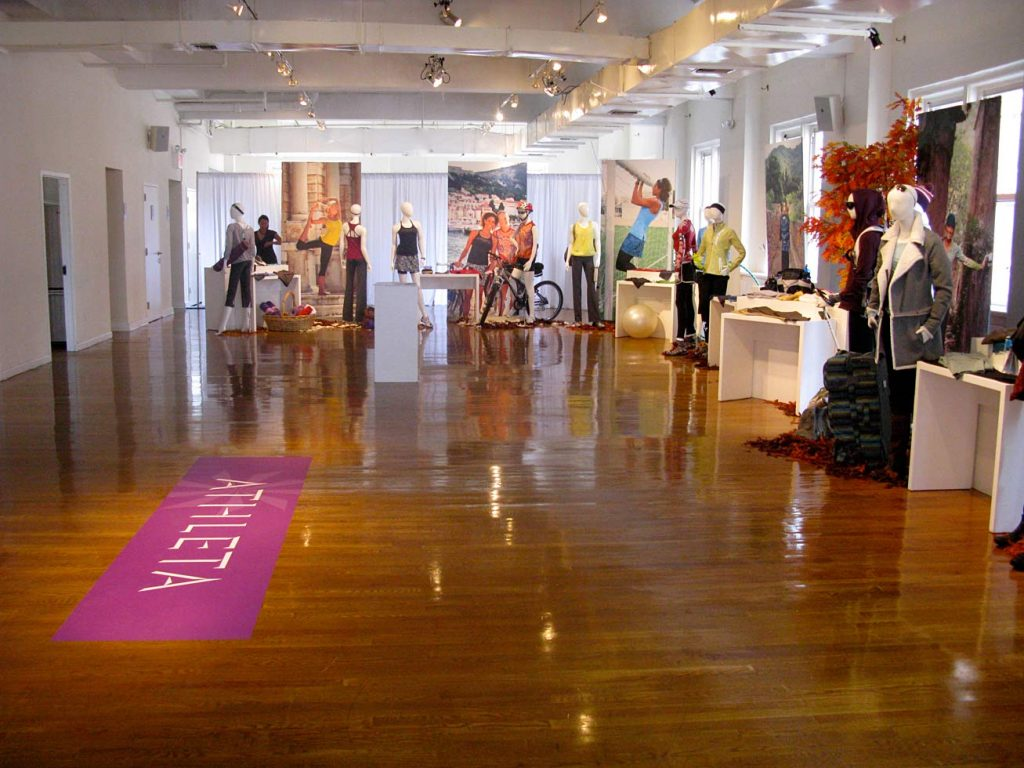 Athleta event - NYC corporate event space