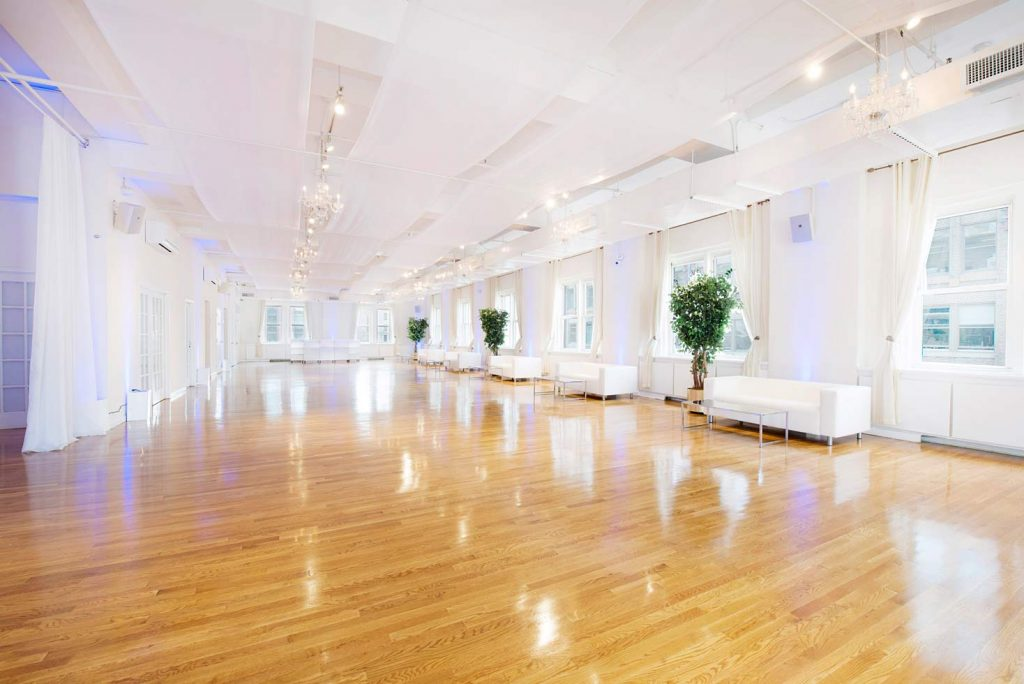 37 Midtown Loft venue space decorated for Sweet 16 event