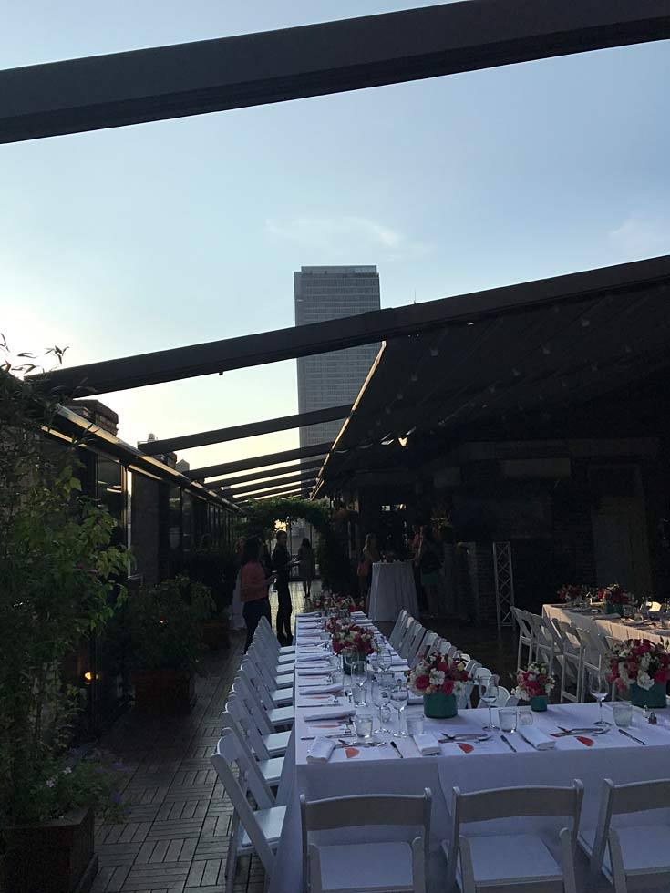 evening with retracted awning - Midtown Loft
