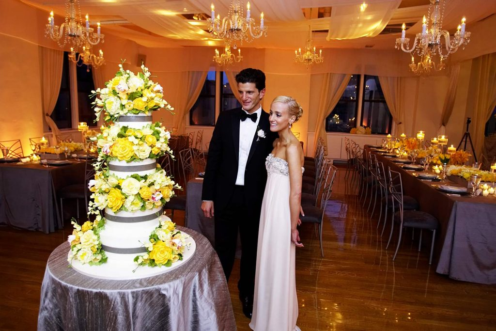 61 Midtown Loft venue decorated for a private wedding