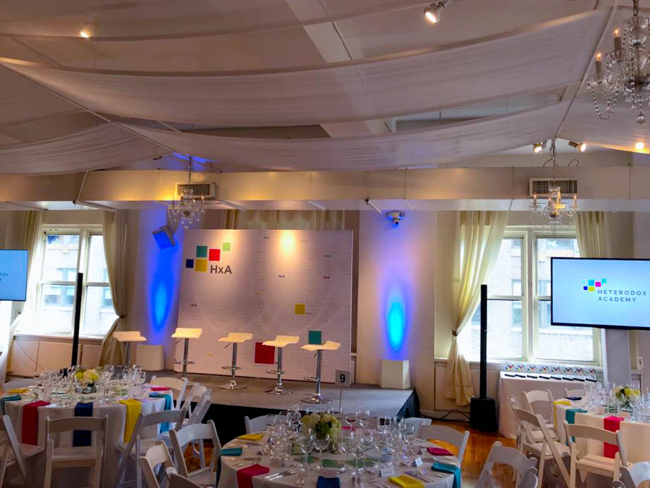 Heterodox academy event - NYC corporate event space