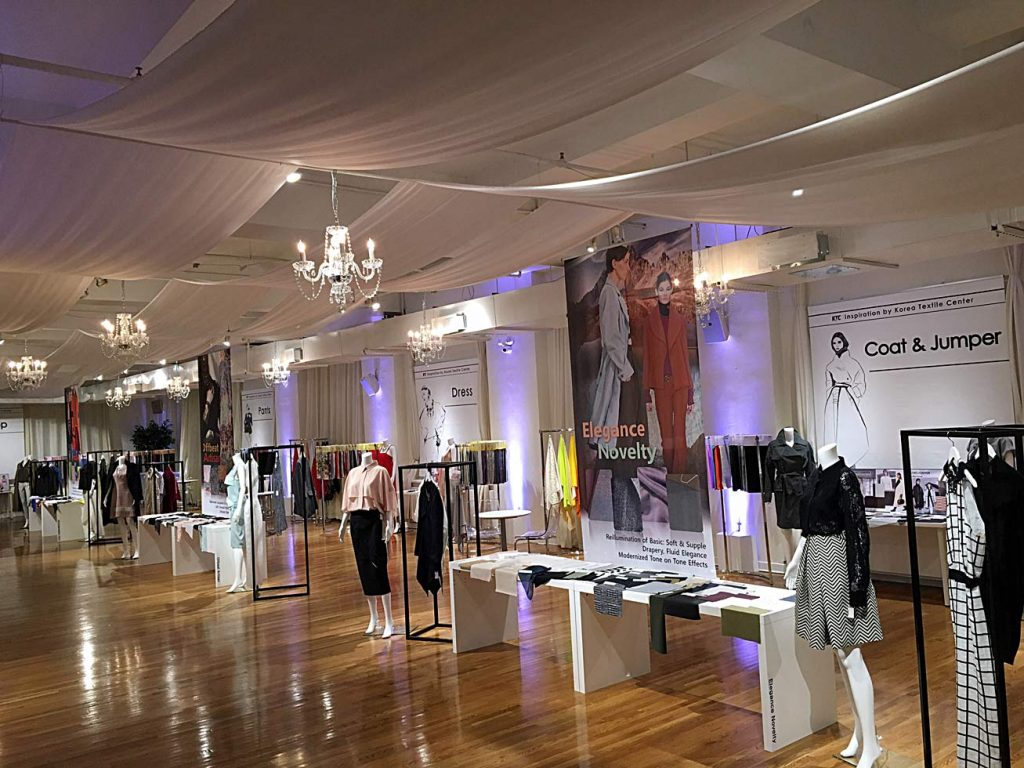 fashion industry event - NYC corporate event space