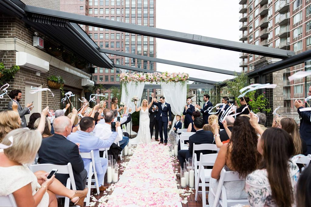 4 Midtown Loft venue decorated for a private wedding