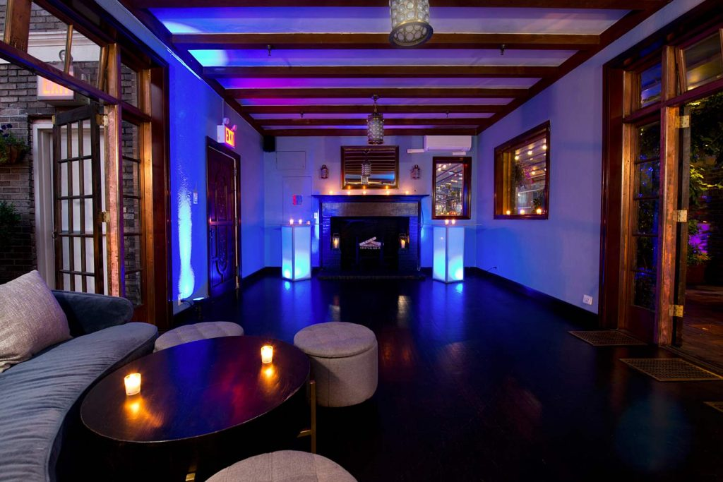 39 Midtown Loft venue space decorated for Sweet 16 event