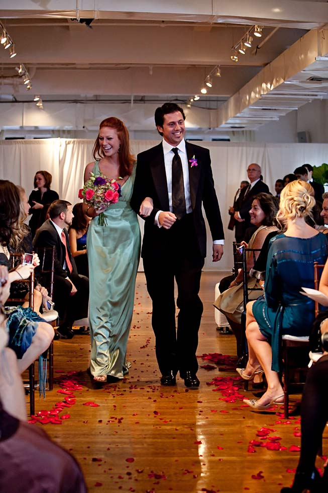 59 Midtown Loft venue decorated for a private wedding