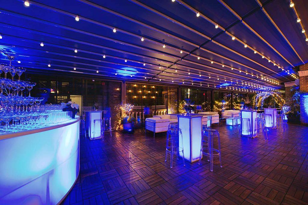 Rooftop Bar Mitzvah space - Midtown Loft