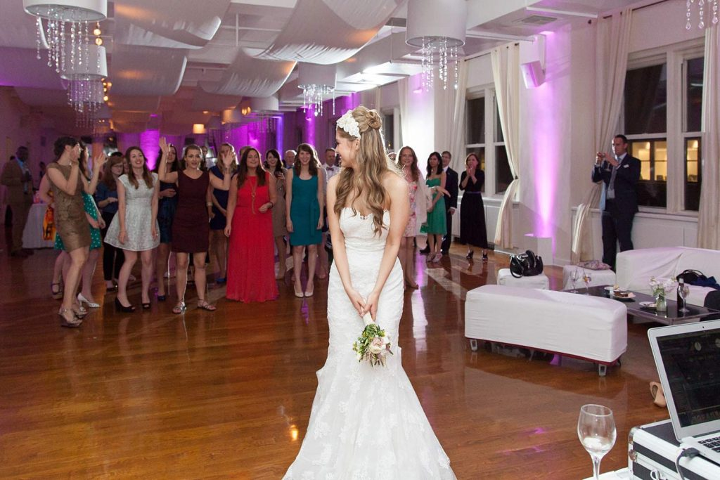 11 Midtown Loft venue decorated for a private wedding