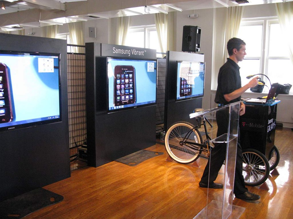 Presentation at Samsung event - NYC corporate event space