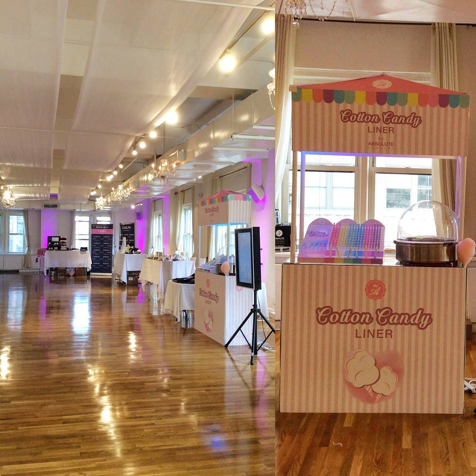 Cotton Candy Event - NYC corporate event space