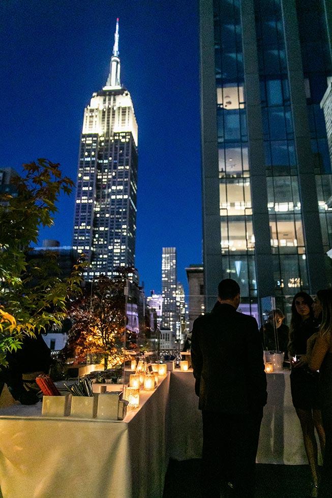 Corporate rooftop event - Midtown Terrace