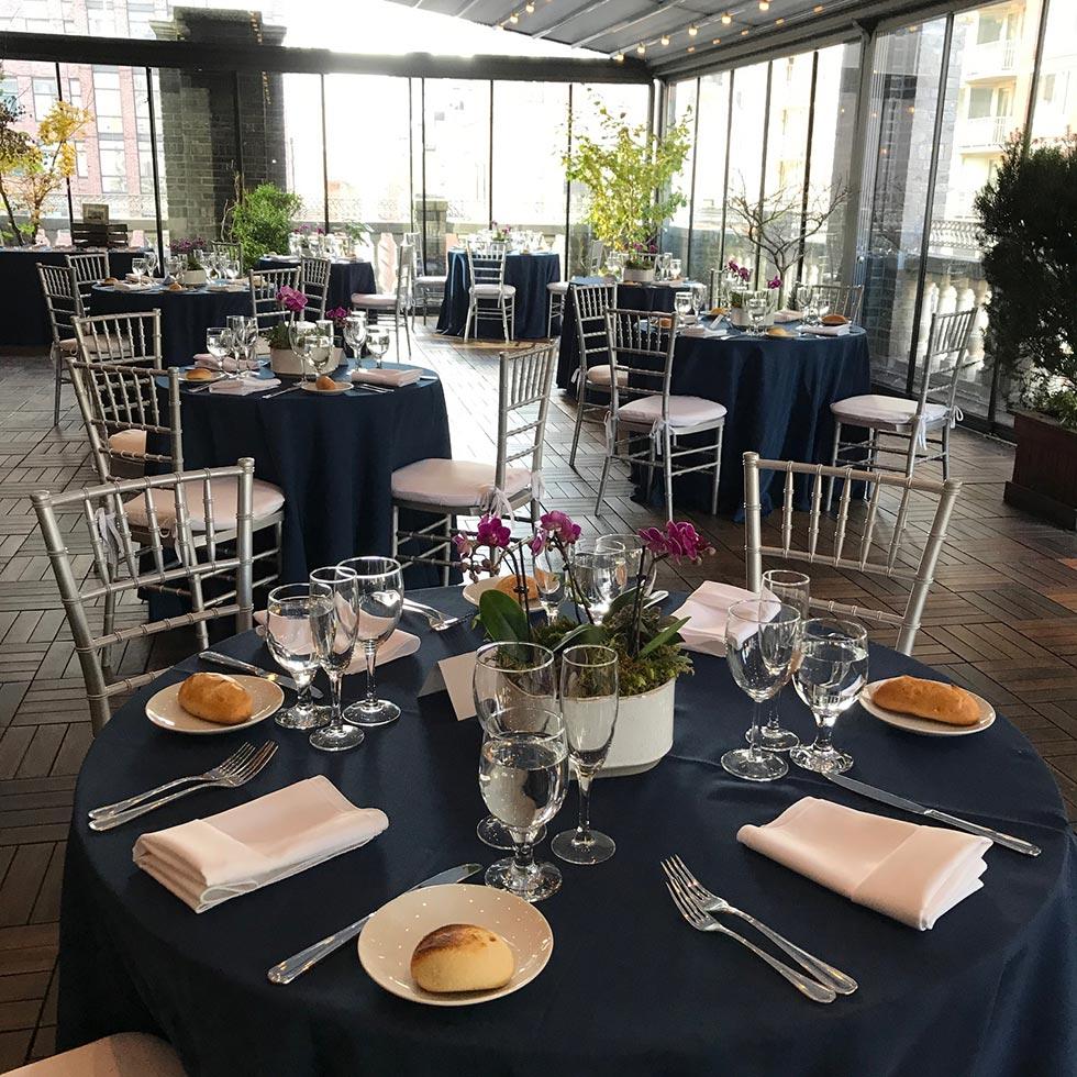 Corporate dining event - Midtown Terrace