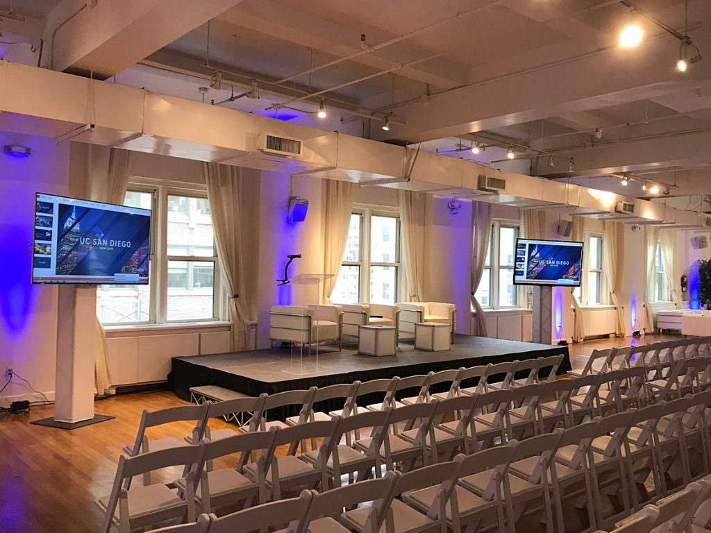 UC San Diego Event - NYC corporate event space
