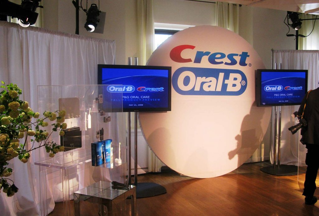Oral-B and Crest event - NYC corporate event space
