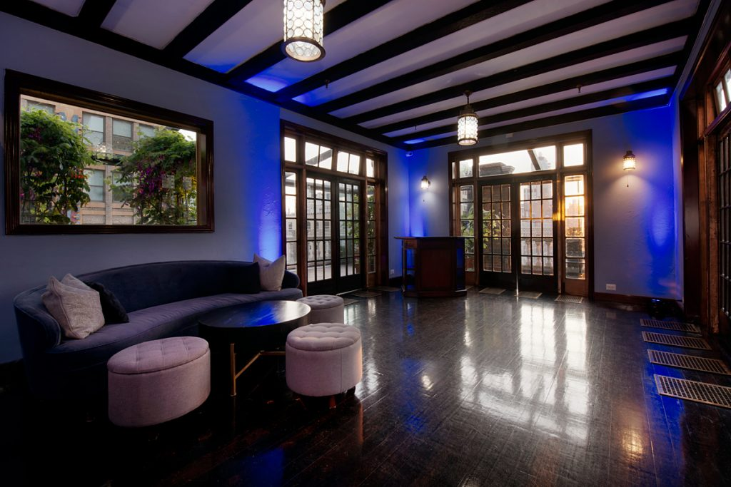45 Midtown Loft venue space decorated for Sweet 16 event