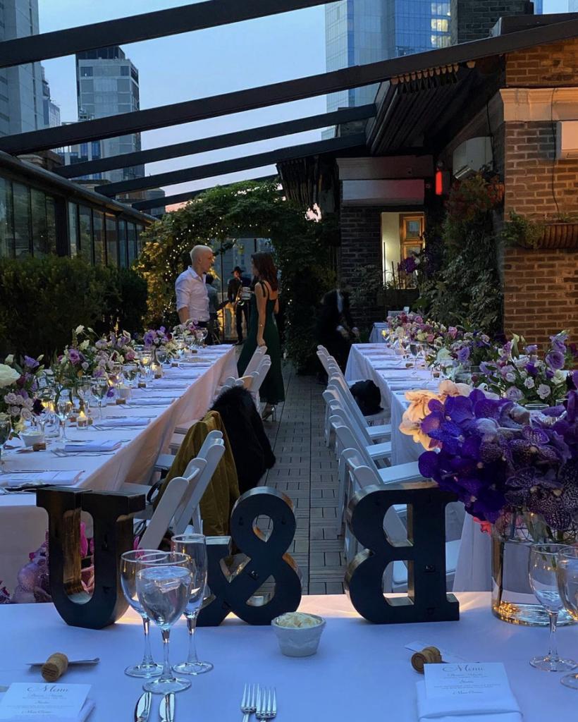 Rooftop terrace wedding - Midtown Terrace