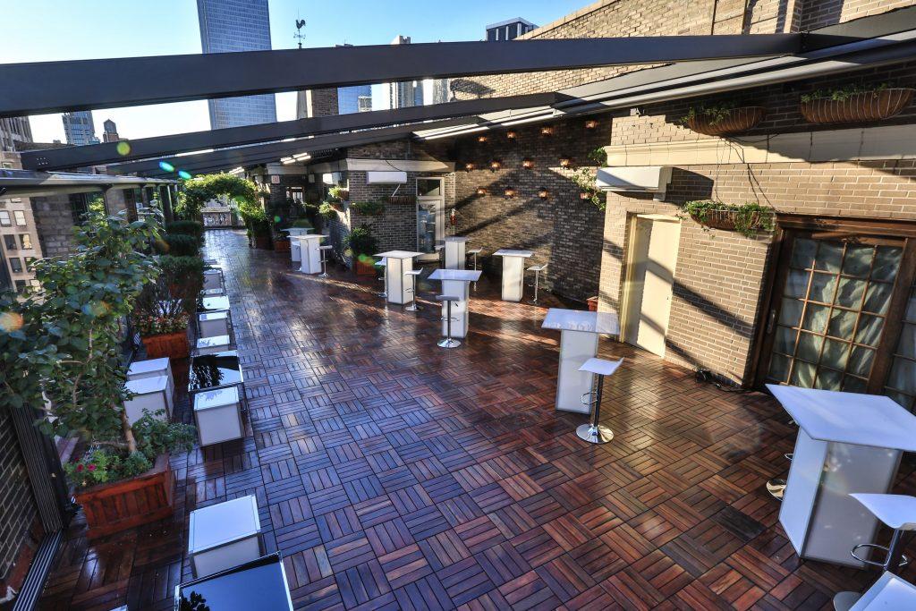 Rooftop terrace event space - Midtown Terrace
