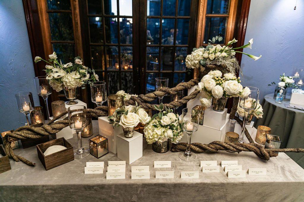 #51: Wedding reception name cards