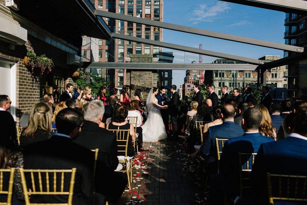 #81: Rooftop wedding ceremony