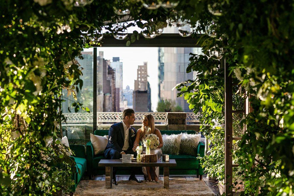 #91: Husband and bride sitting together - Midtown Loft