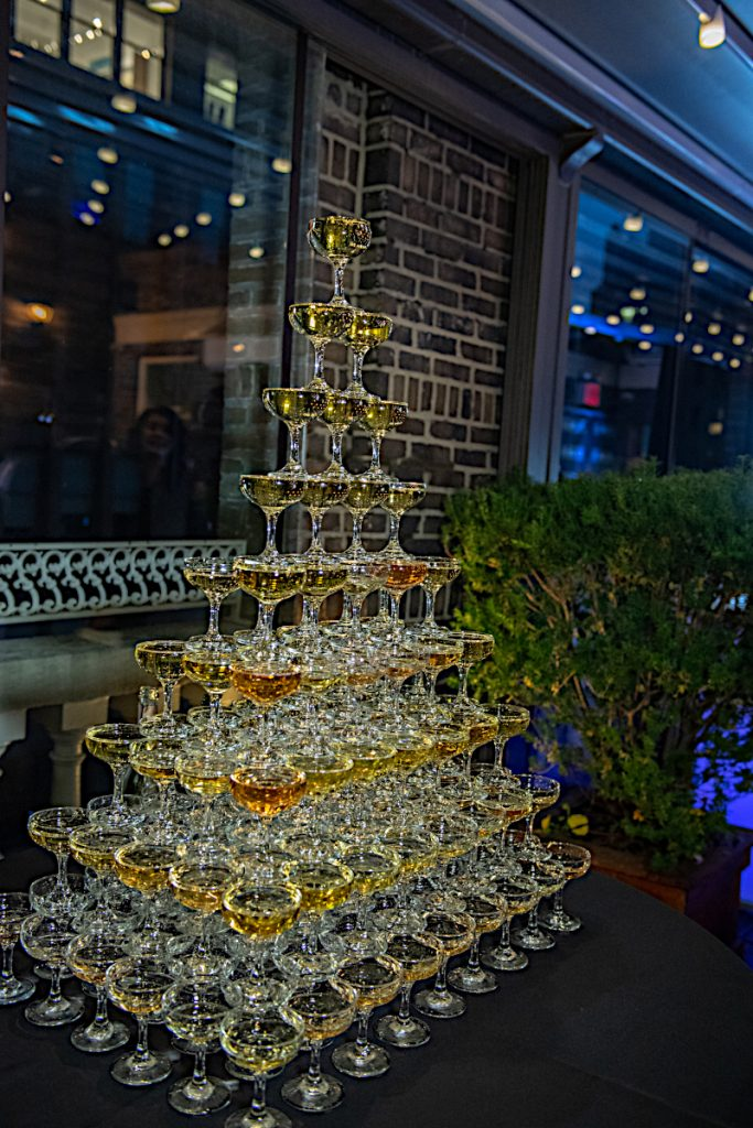 champagne tower - Midtown Terrace