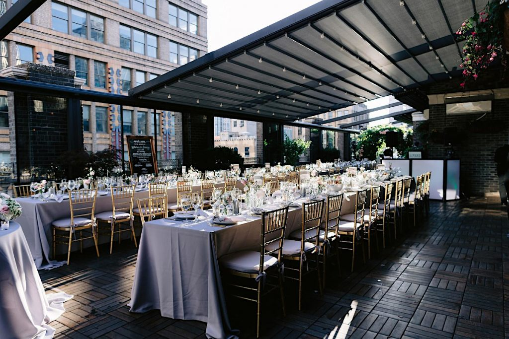 52 - Midtown Terrace set for private wedding