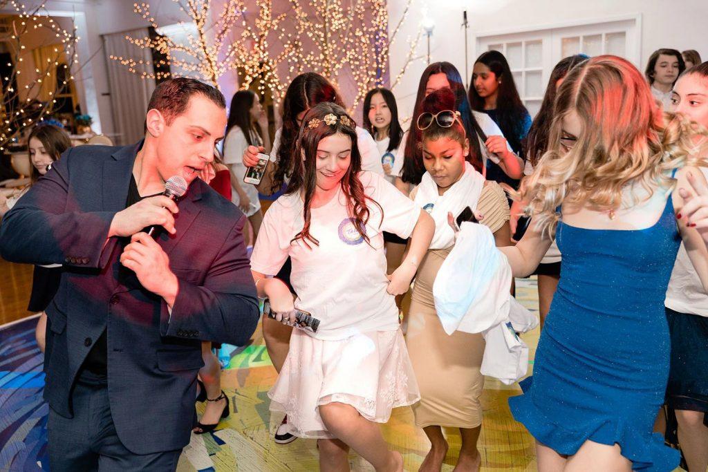 Dancing at Batmizvah - Midtown Loft