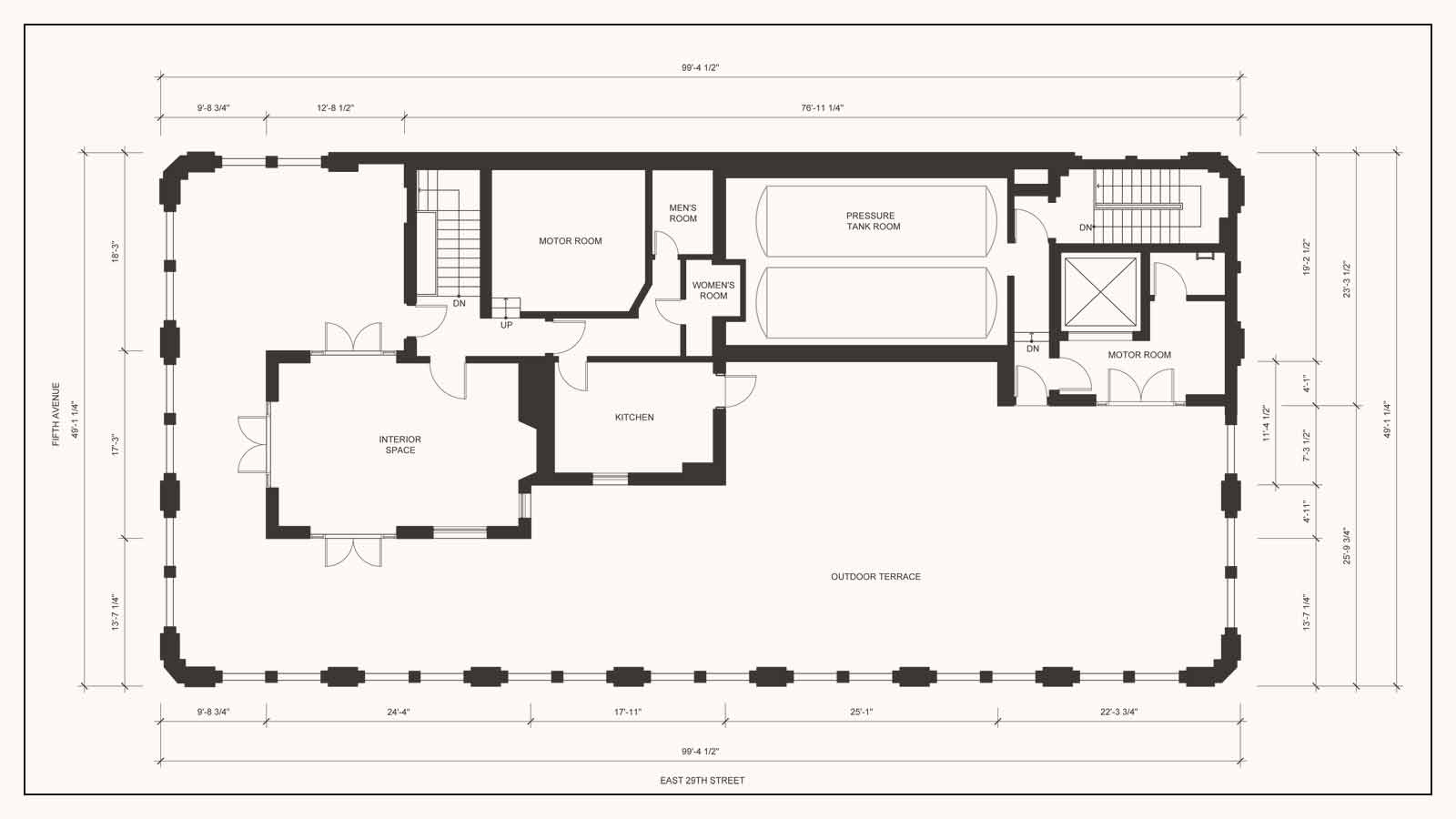 The Terrace plan