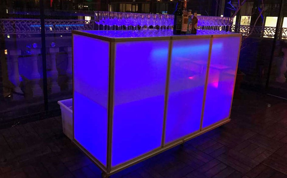 Illuminated Skybar: $400