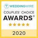 Wedding Wire Couples Choice Award 2020